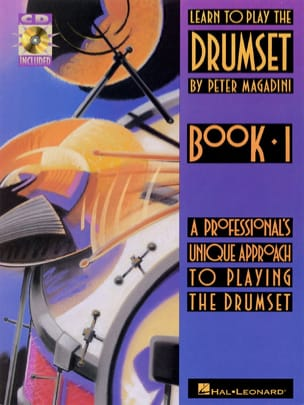 Learn to play the drumset book 1 Peter Magadini Partition laflutedepan