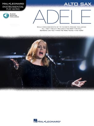 Adele, pour Sax Alto Adele Partition Saxophone - laflutedepan