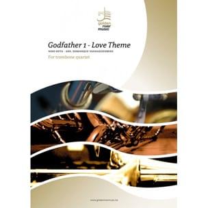 Le Parrain, Love Theme - Quatuor de Trombones ROTA laflutedepan