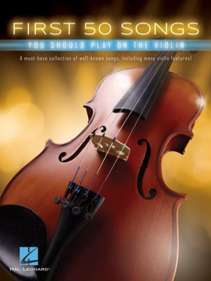 First 50 Songs You Should Play on the Violin Partition laflutedepan