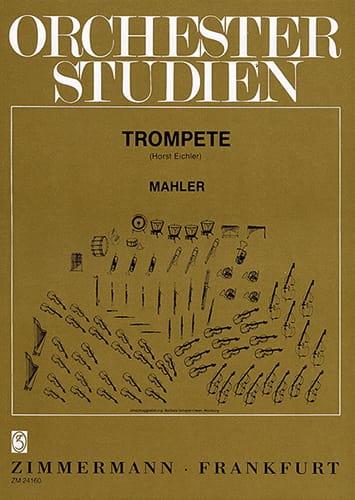 Orchester Studien - MAHLER - Partition - Trompette - laflutedepan.com