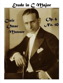 Etude In C Major Opus 6 N° 10 Clair Omar Musser Partition laflutedepan