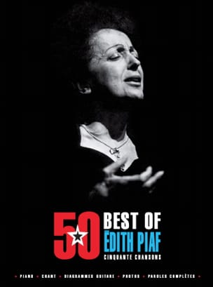 Edith Piaf - 50 Best Of - Edith Piaf - Partition - di-arezzo.co.uk