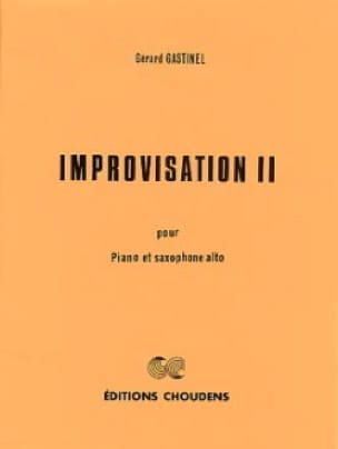 Improvisation 2 - Gérard Gastinel - Partition - laflutedepan.com