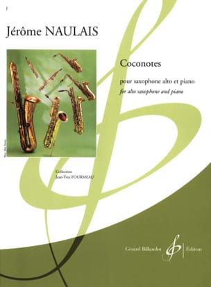 Coconotes Jérôme Naulais Partition Saxophone - laflutedepan