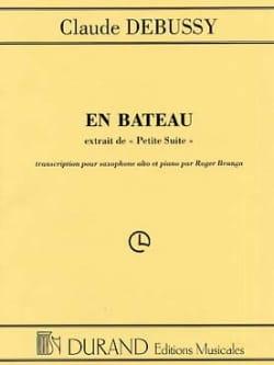 En Bateau Petite Suite DEBUSSY Partition Saxophone - laflutedepan