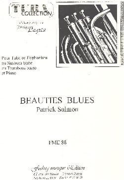 Beauties Blues Patrick Salmon Partition Tuba - laflutedepan