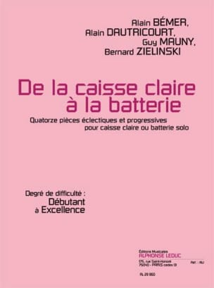 De la Caisse Claire A la Batterie laflutedepan