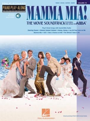 Piano Play-Along Volume 73 - Mamma Mia ! The Movie ABBA laflutedepan