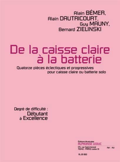 De la Caisse Claire A la Batterie - laflutedepan.com