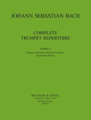 Complete Trumpet Repertoire Volume 3 - BACH - laflutedepan.com