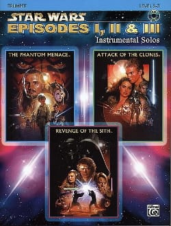 Star Wars episodes 1, 2 & 3 - instrumental solos laflutedepan