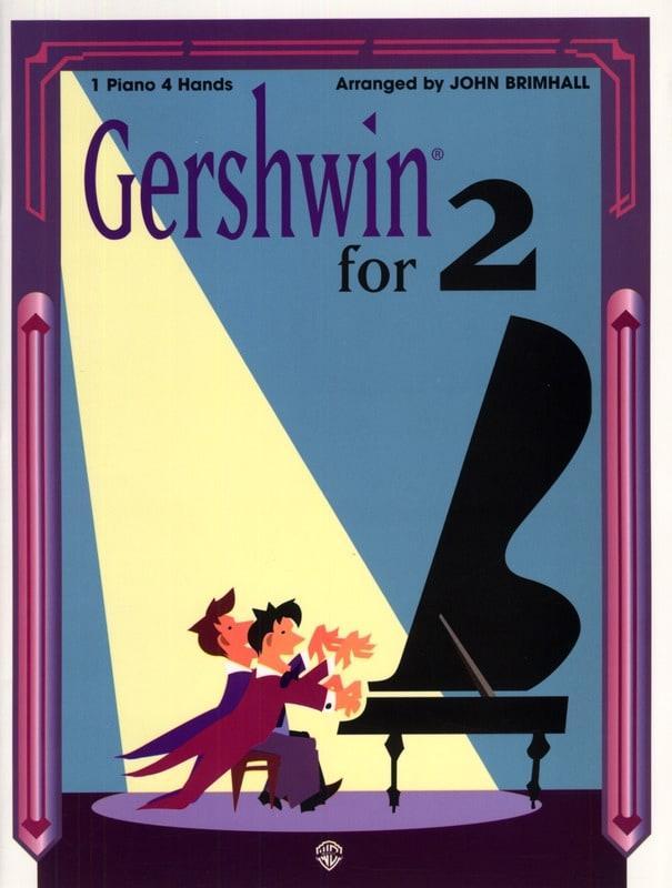 Gershwin for 2 - One piano four hands - GERSHWIN - laflutedepan.com