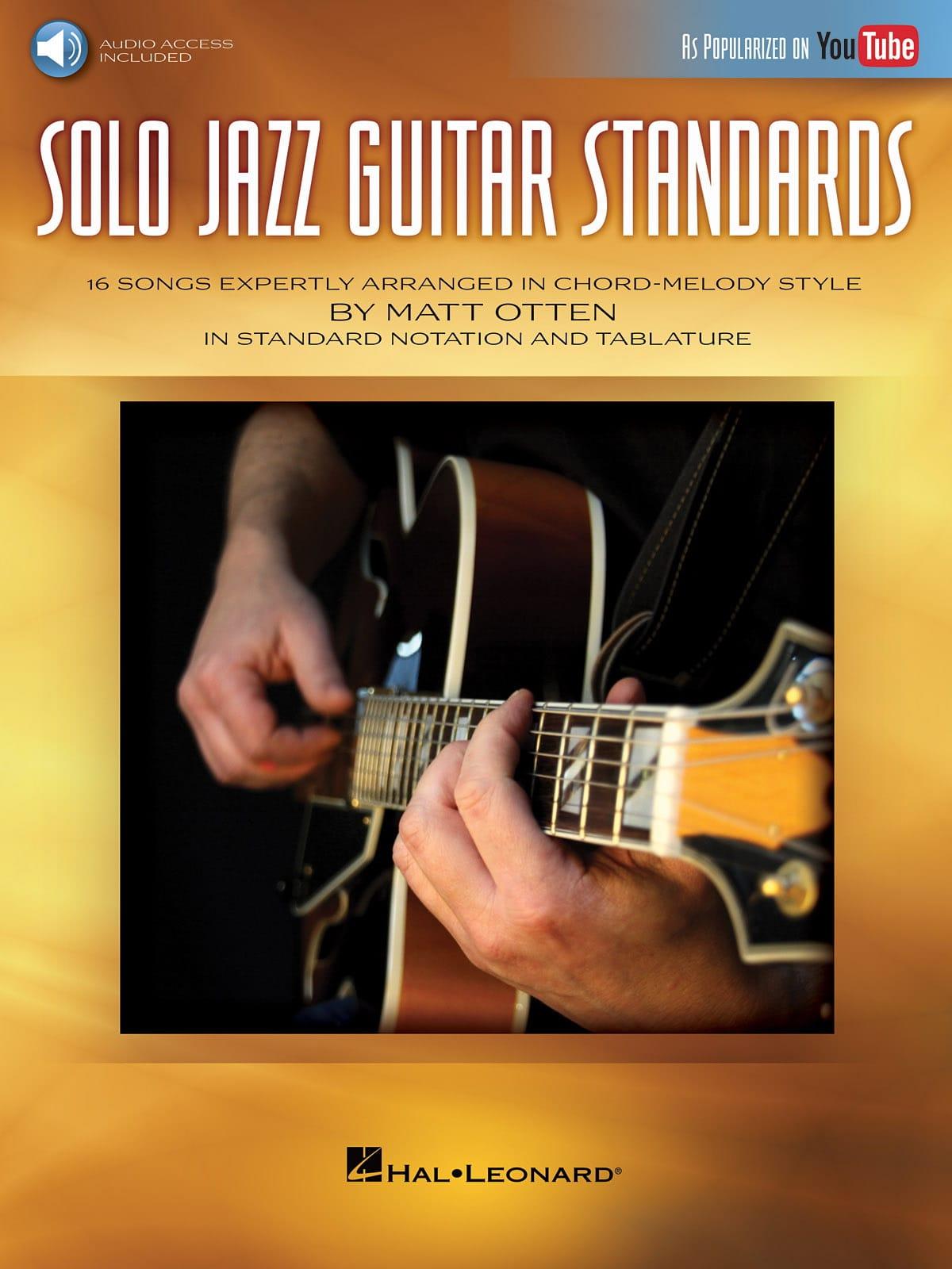 Solo Jazz Guitar Standards - Partition - Jazz - laflutedepan.com