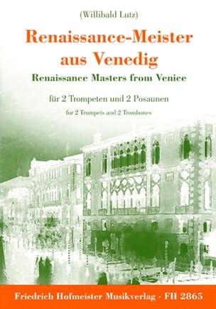 Renaissance-Meister Aus Venedig - Partition - laflutedepan.com
