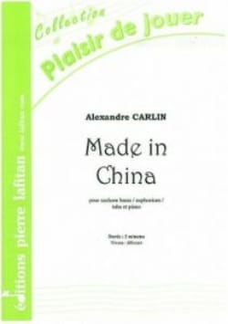 Made in China Alexandre Carlin Partition Tuba - laflutedepan