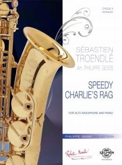 Speedy Charlie's Rag Sébastien Troendlé Partition laflutedepan