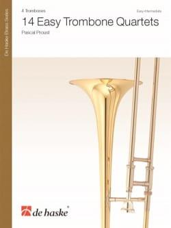 14 Easy Trombone Quartets Pascal Proust Partition laflutedepan