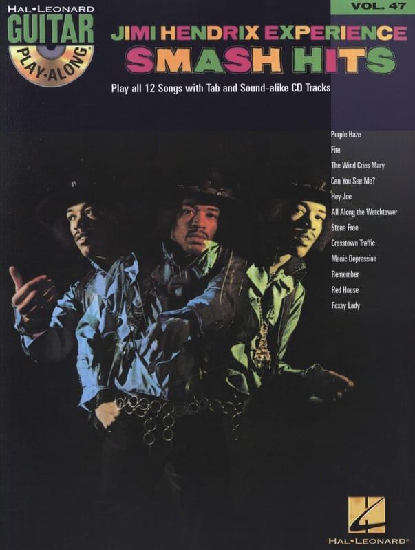 Guitar Play-Along Volume 47 - Jimi Hendrix Experience - Smash Hits - laflutedepan.com