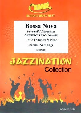 Jazzination Bossa Nova Volume 8 Dennis Armitage Partition laflutedepan