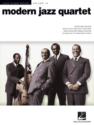 Jazz piano solos volume 18 - Modern Jazz Quartet laflutedepan