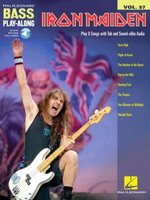 Bass Play-Along Volume 57 - Iron Maiden Iron Maiden laflutedepan