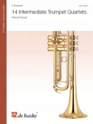 14 Intermediate Trumpet Quartets - Pascal Proust - laflutedepan.com