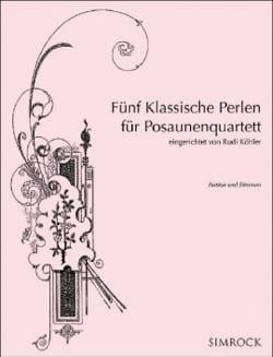 Cinq Perles Classiques pour Quatuor de Trombones laflutedepan