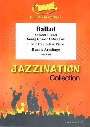 Jazzination Ballad Volume 6 - Dennis Armitage - laflutedepan.com