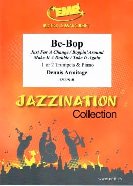 Jazzination Be-Bop Volume 7 Dennis Armitage Partition laflutedepan