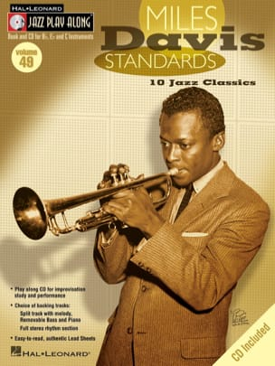 Jazz play-along volume 49 - Miles Davis Standards laflutedepan