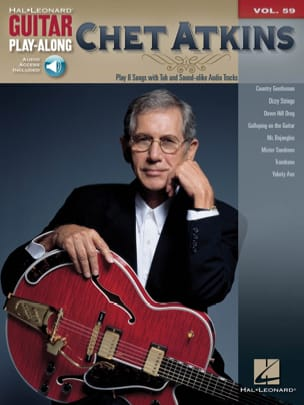 Guitar Play-along volume 59 - Chet Atkins Chet Atkins laflutedepan