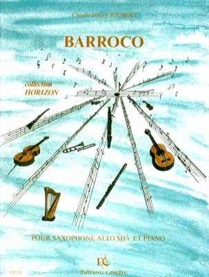 Barroco Claude-Henry Joubert Partition Saxophone - laflutedepan