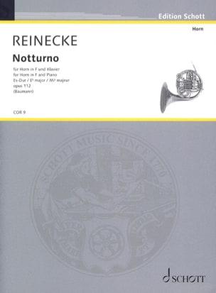 Notturno Opus 112 In Es-Dur Carl Reinecke Partition Cor - laflutedepan