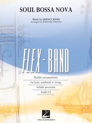 Soul bossa nova - FlexBand Quincy Jones Partition laflutedepan