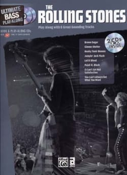 Ultimate Bass Play-Along ROLLING STONES Partition laflutedepan