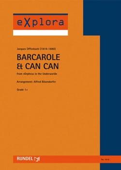 Barcarole & Can Can OFFENBACH Partition ENSEMBLES - laflutedepan