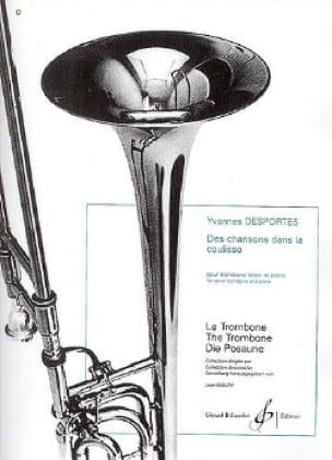 Des Chansons dans la Coulisse - Yvonne Desportes - laflutedepan.com