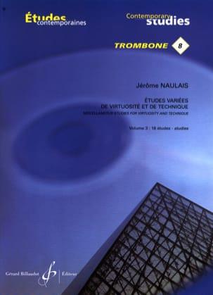 8- Etudes variées de virtuosite et de technique volume 3 - 18 Etudes laflutedepan