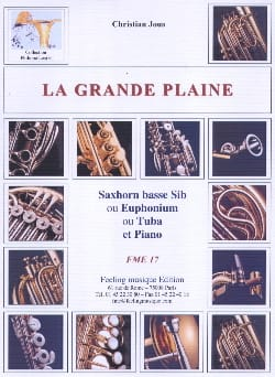 La Grande Plaine Christian Jous Partition Tuba - laflutedepan