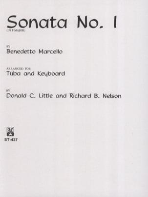 Sonata N° 1 In F Major Benedetto Marcello Partition laflutedepan