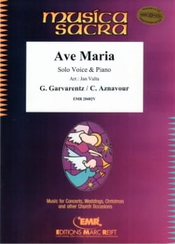Ave Maria Charles Aznavour Partition Recueils - laflutedepan