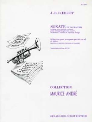 Sonate En Do Majeur - LOEILLET - Partition - laflutedepan.com