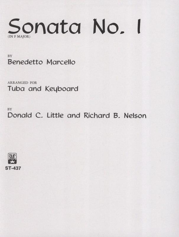 Sonata N° 1 In F Major - Benedetto Marcello - laflutedepan.com