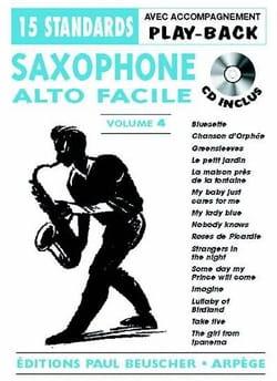Saxo alto facile volume 4 Partition Saxophone - laflutedepan