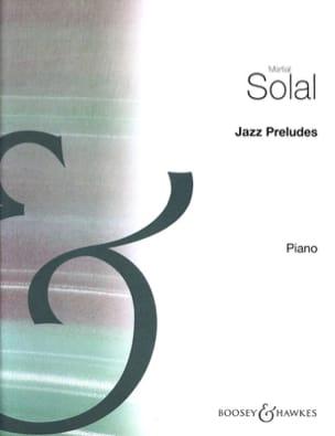 Jazz Préludes Martial Solal Partition Jazz - laflutedepan