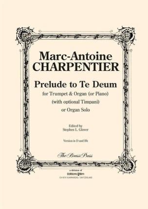 Prelude To Te Deum CHARPENTIER Partition Trompette - laflutedepan