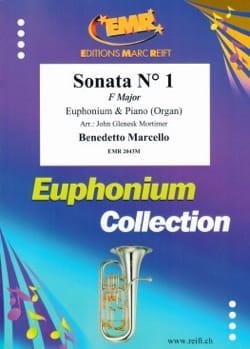 Sonate N° 1 Fa Major Benedetto Marcello Partition Tuba - laflutedepan