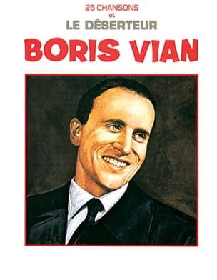 25 Chansons et le déserteur Boris Vian Partition laflutedepan
