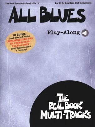 Real Book Multi-Tracks Volume 3 - All Blues Play-Along - laflutedepan.com